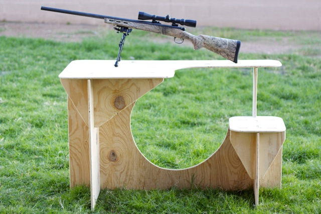 Shooting Bench Plans Portable. Homemade ...