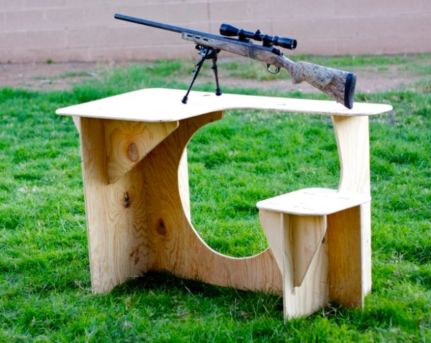 portable shooting bench plans